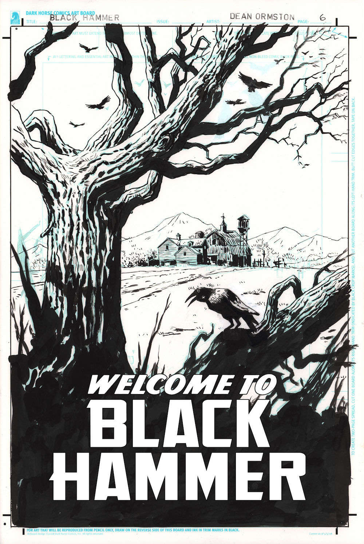Black Hammer DC Page 6