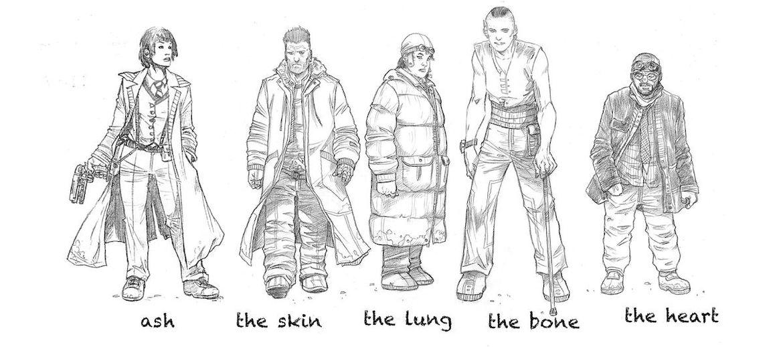 Blade Runner 2019 Character Sketch
