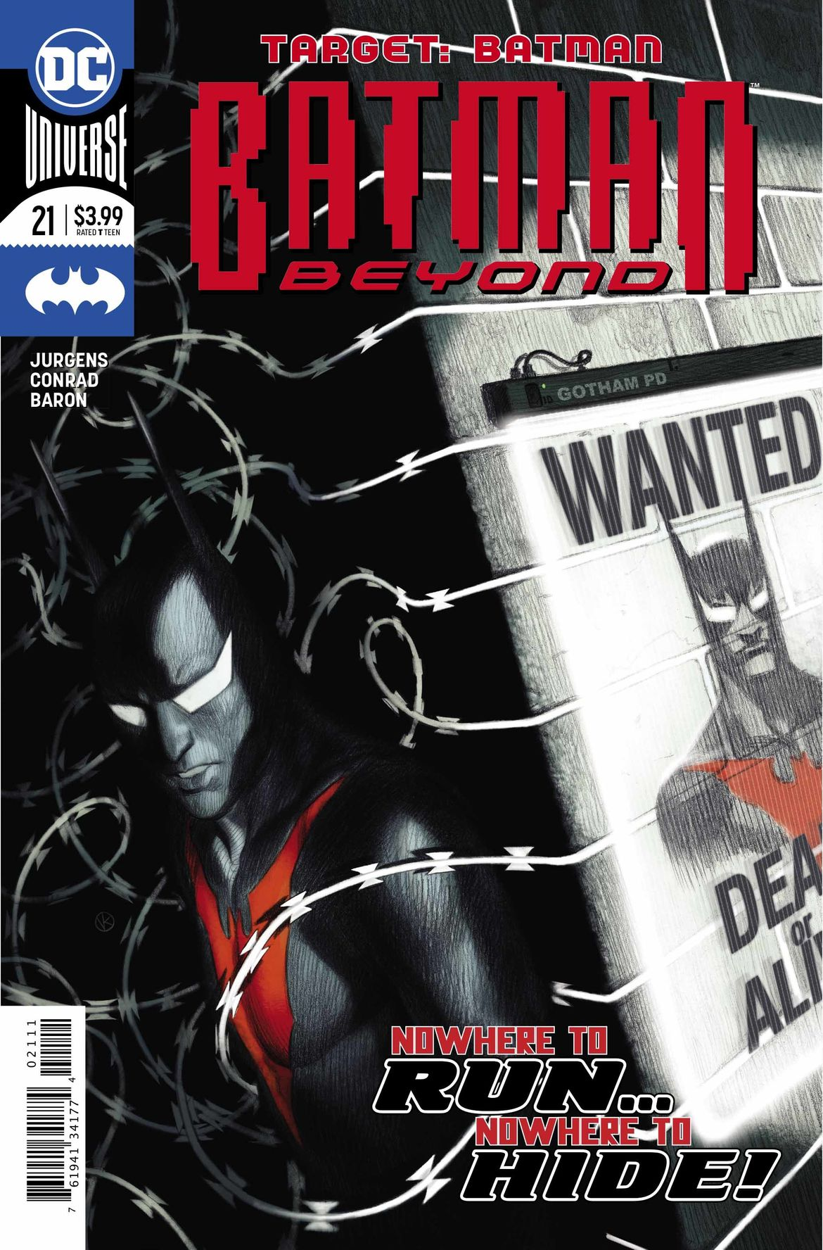 Batman Beyond 21 cover