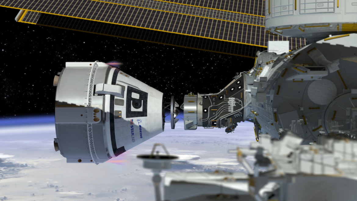 image of Boeing CST-100 Starliner