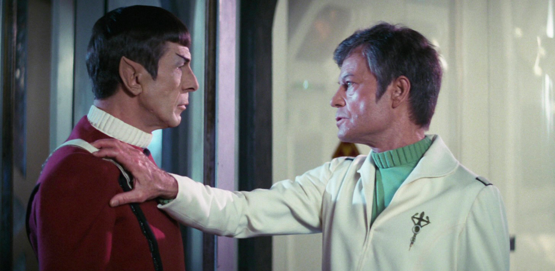 Bones and Spock in the Wrath