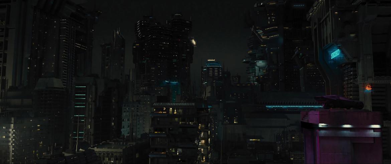 Blade Runner 2049 skyline finished