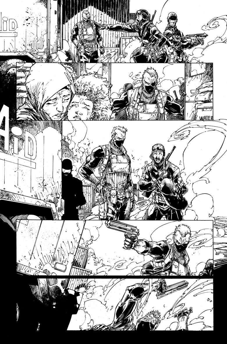 Bloodshot 1 Page 3 BW