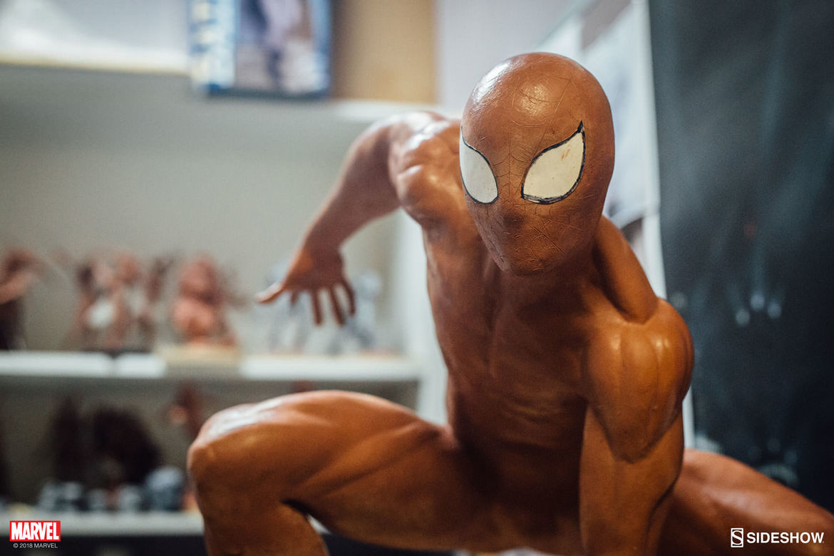 Sideshow Legendary Scale Spider-Man