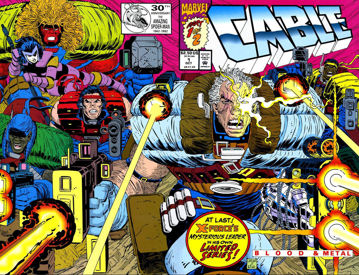 Cable #! cover by John Romita JR