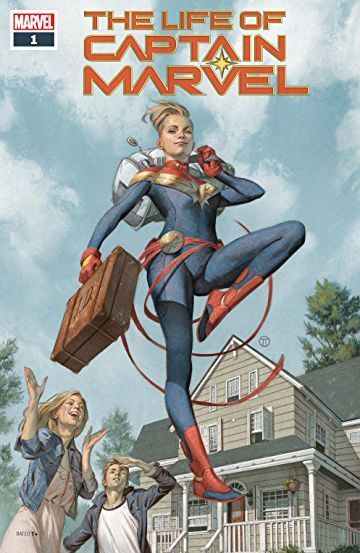 Captain Marvel Comics cover