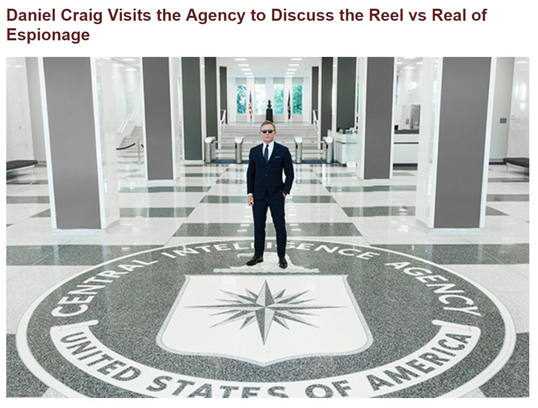 James Bond CIA