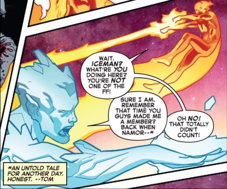 Fantastic Four Iceman
