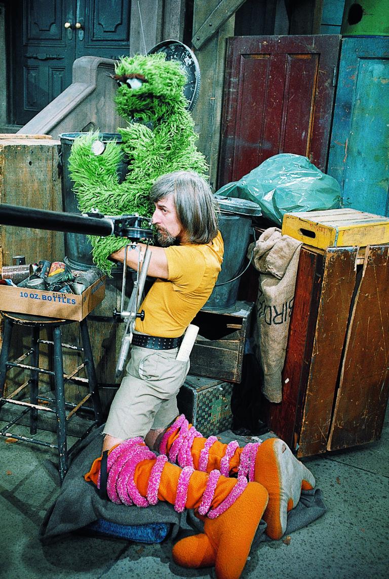 Caroll Spinney Oscar the Grouch Sesame Street