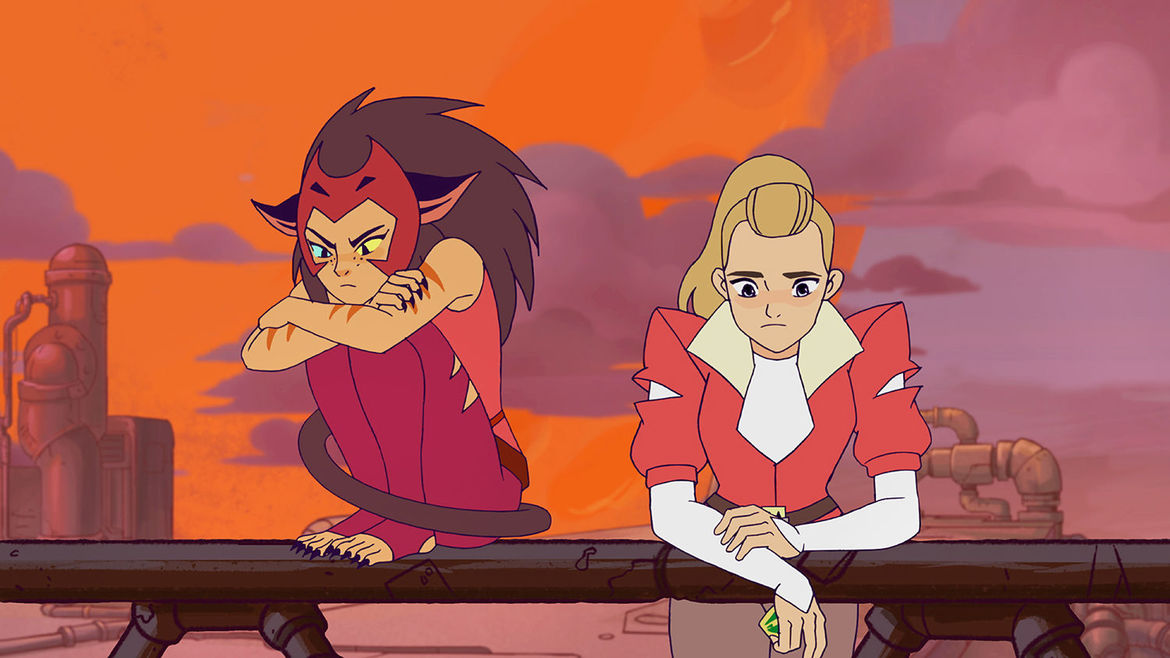 Catra and Adora
