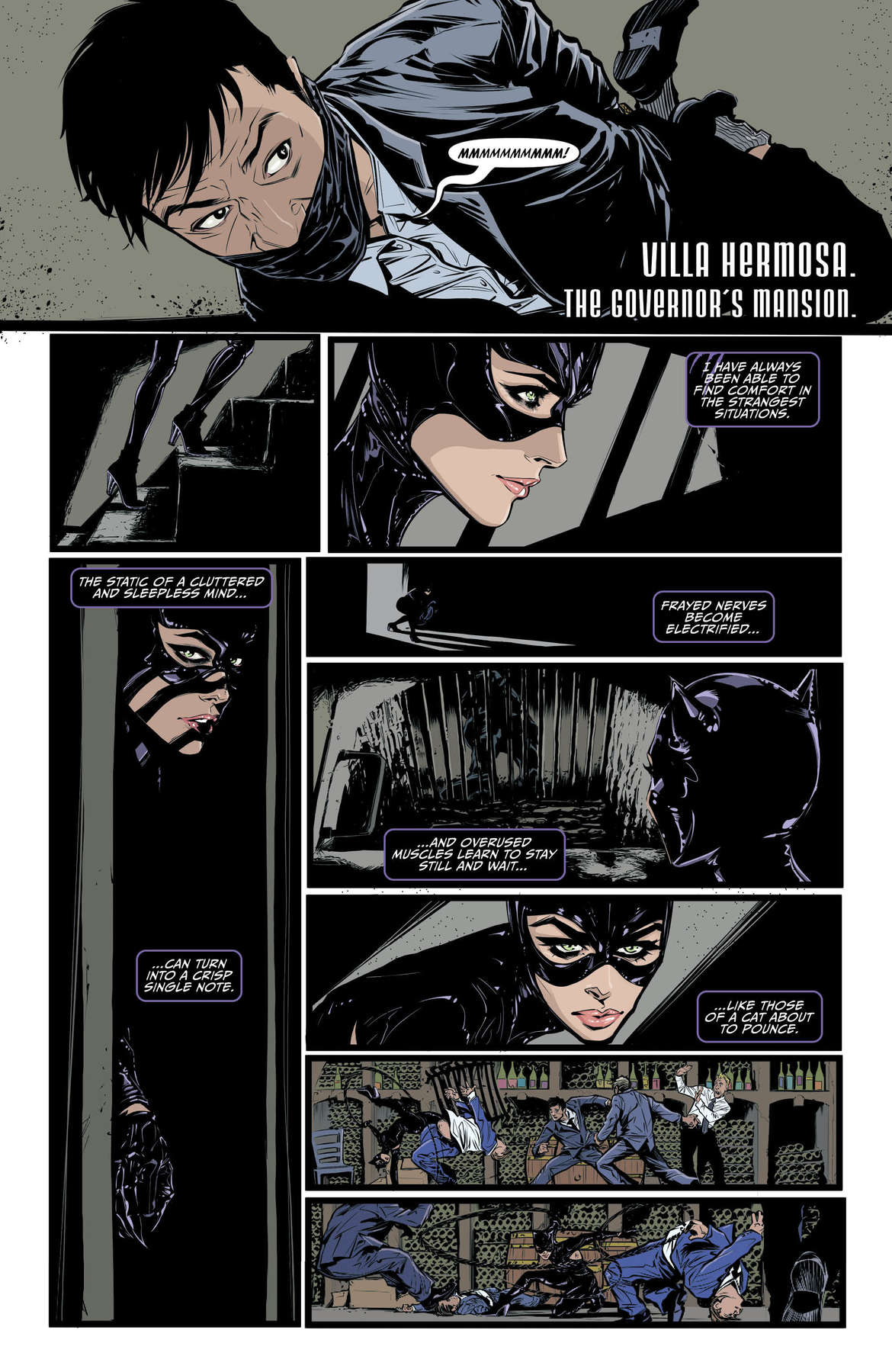 Catwoman #6 Page 1