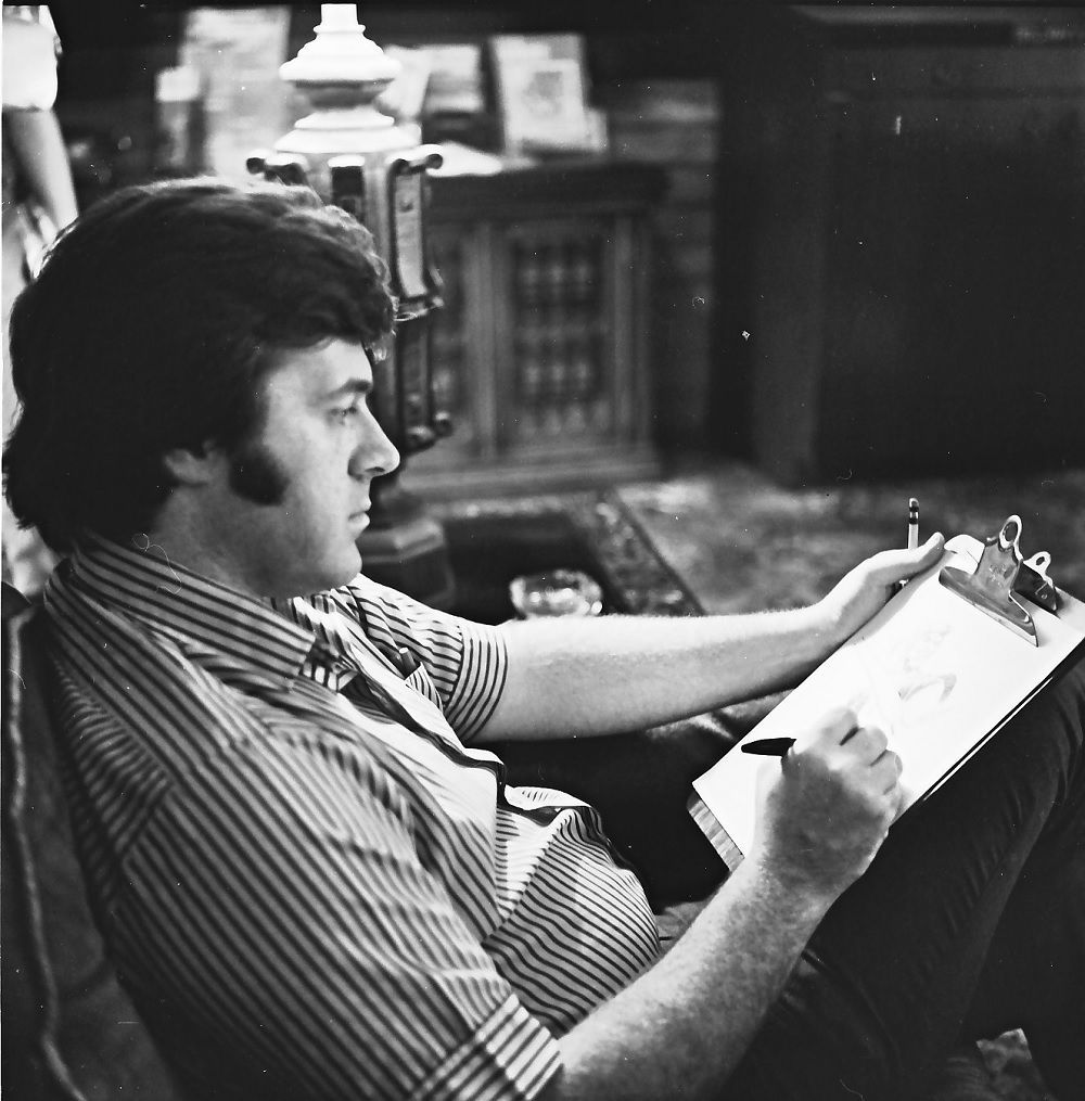 Neal Adams at the 1973 San Diego Comic-Con