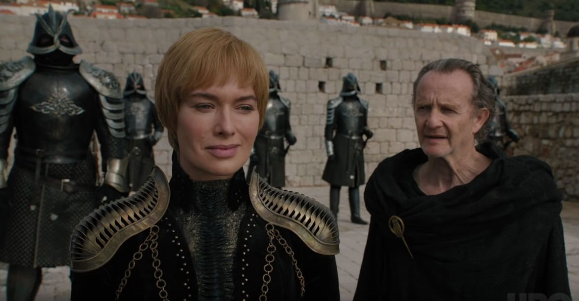Cersei Lannister, Game of Thrones trailer