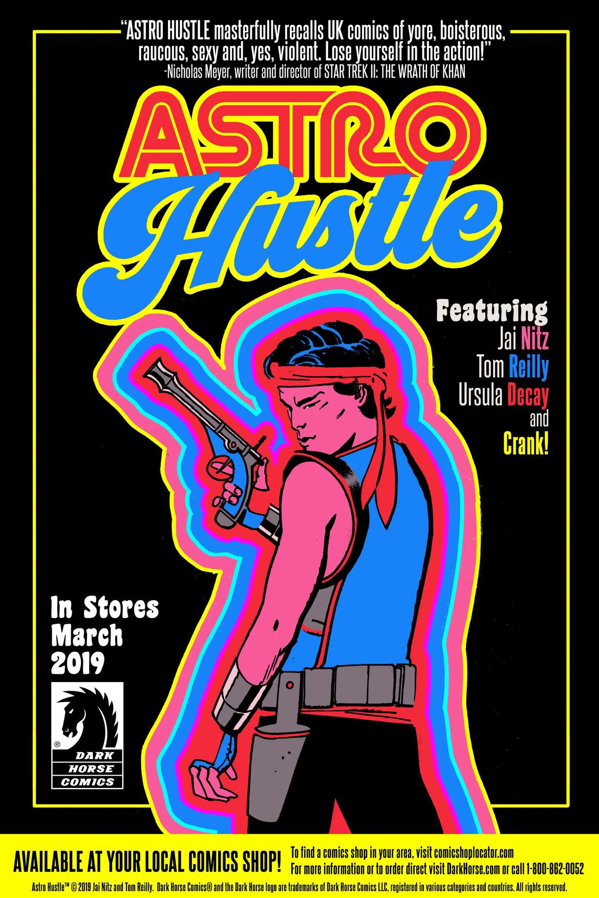 Astro Hustle Promo Art