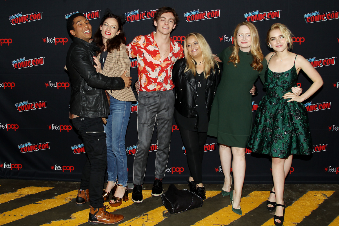 Chilling Adventures of Sabrina Kiernan Shipka, Ross Lynch, Lucy Davis, Miranda Otto, Michelle Gomez, Chance Perdomo