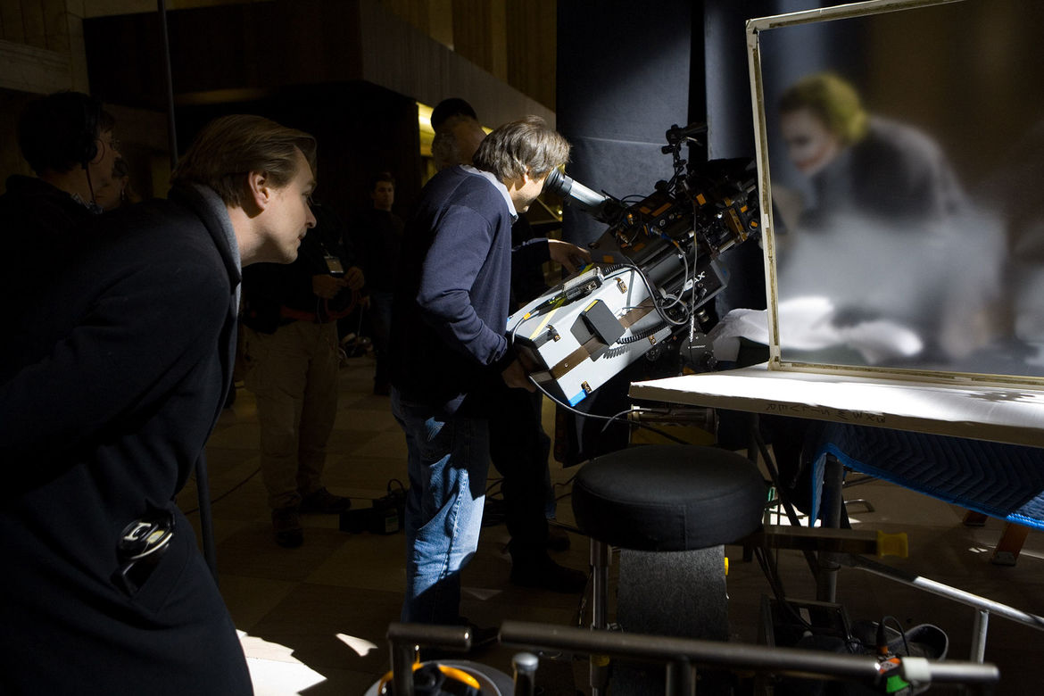 Christopher Nolan IMAX camera