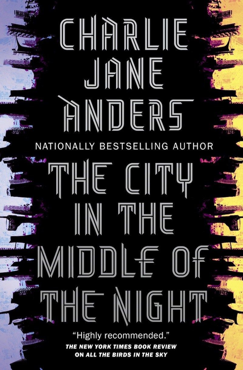 City in the Middle of the Night Cover