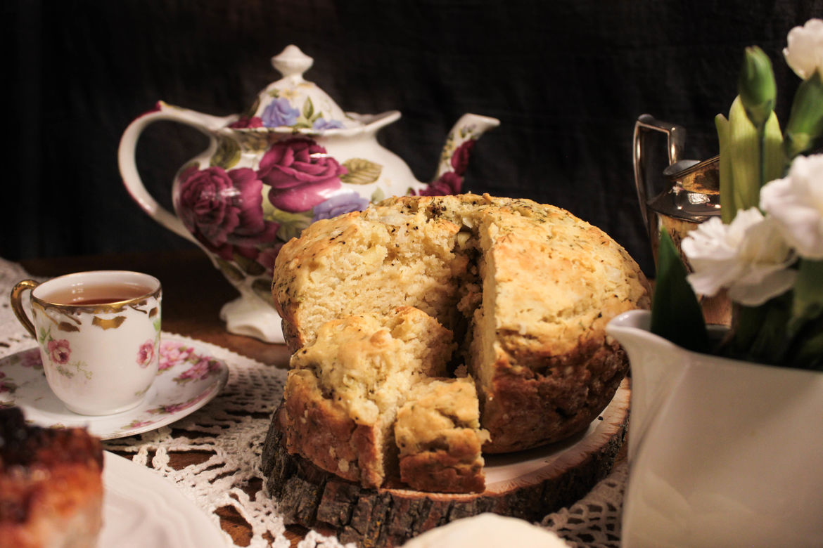 Cooking With Sherlock Holmes - Dill Loaf