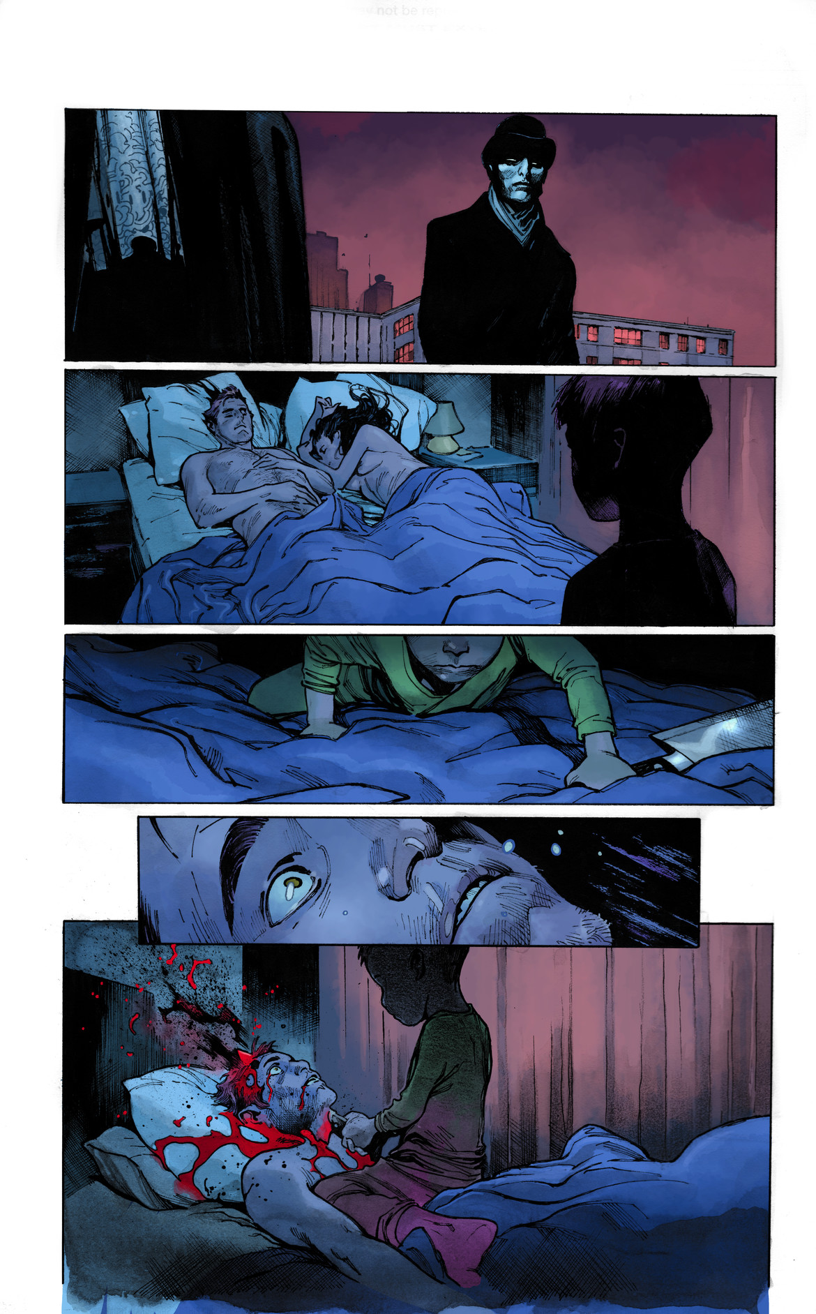 From The Magic Order by Mark Millar and Olivier Coipel