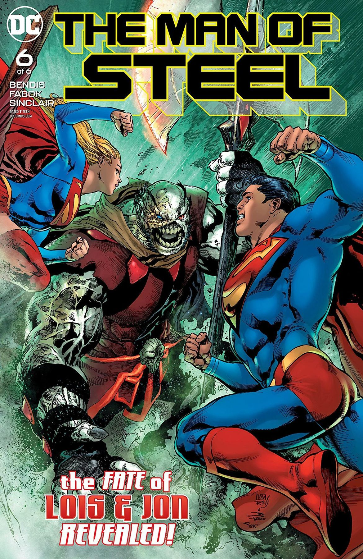 The Man of Steel #6 Cover