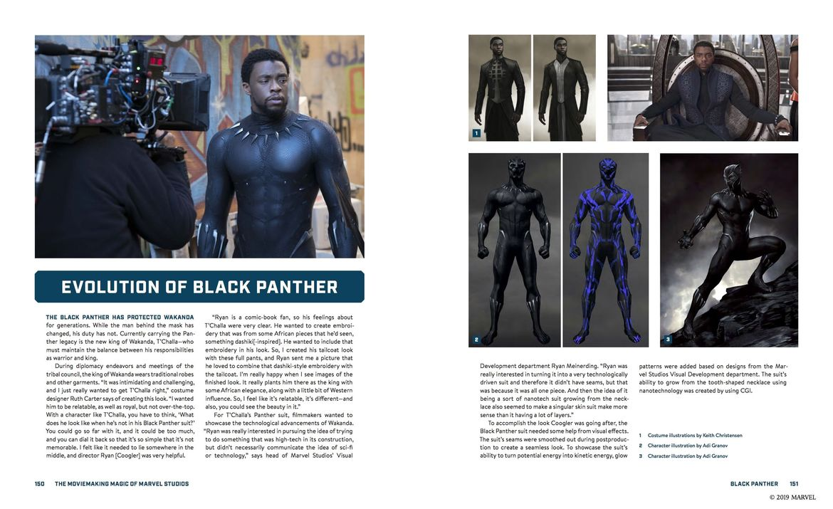 THE MOVIEMAKING MAGIC OF MARVEL STUDIOS: Heroes & Villains Black Panther
