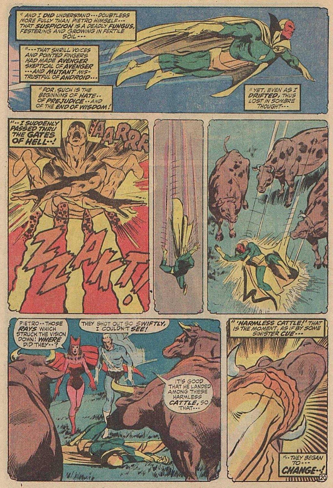Avengers #93 (Written by Roy Thomas, Art by Neal Adams)