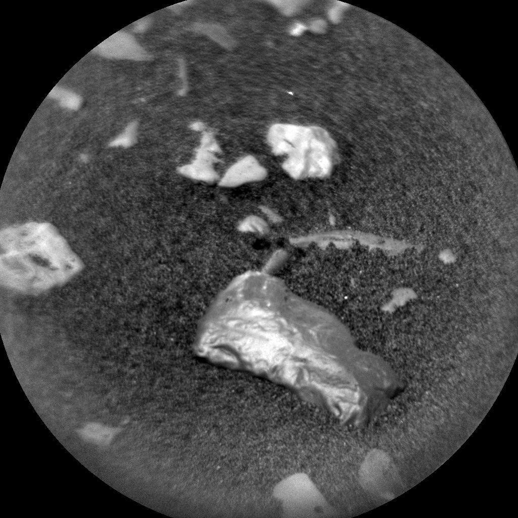 shiny rock on Mars found by Curiosity