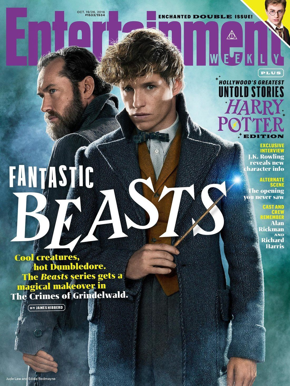 Crimes of Grindelwald EW cover