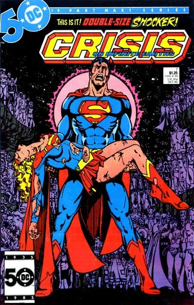 crisis on infinite earths supergirl dies