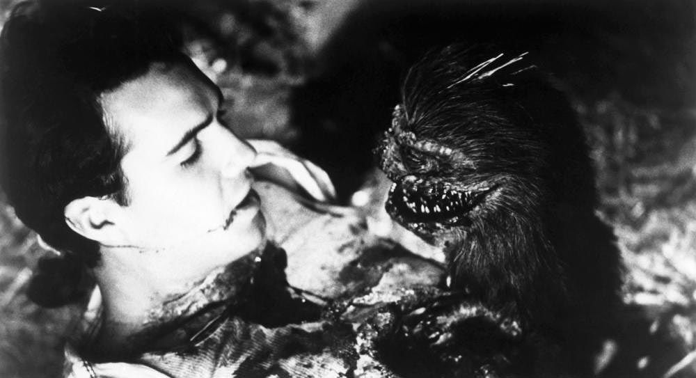 Critters Billy Zane black and white