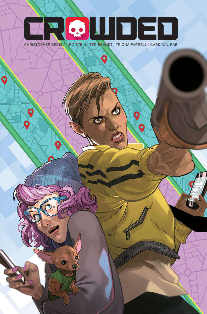 CROWDED #1 Cover B