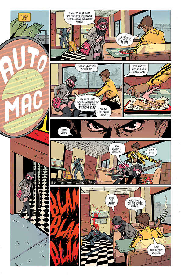 CROWDED #1 Page 1