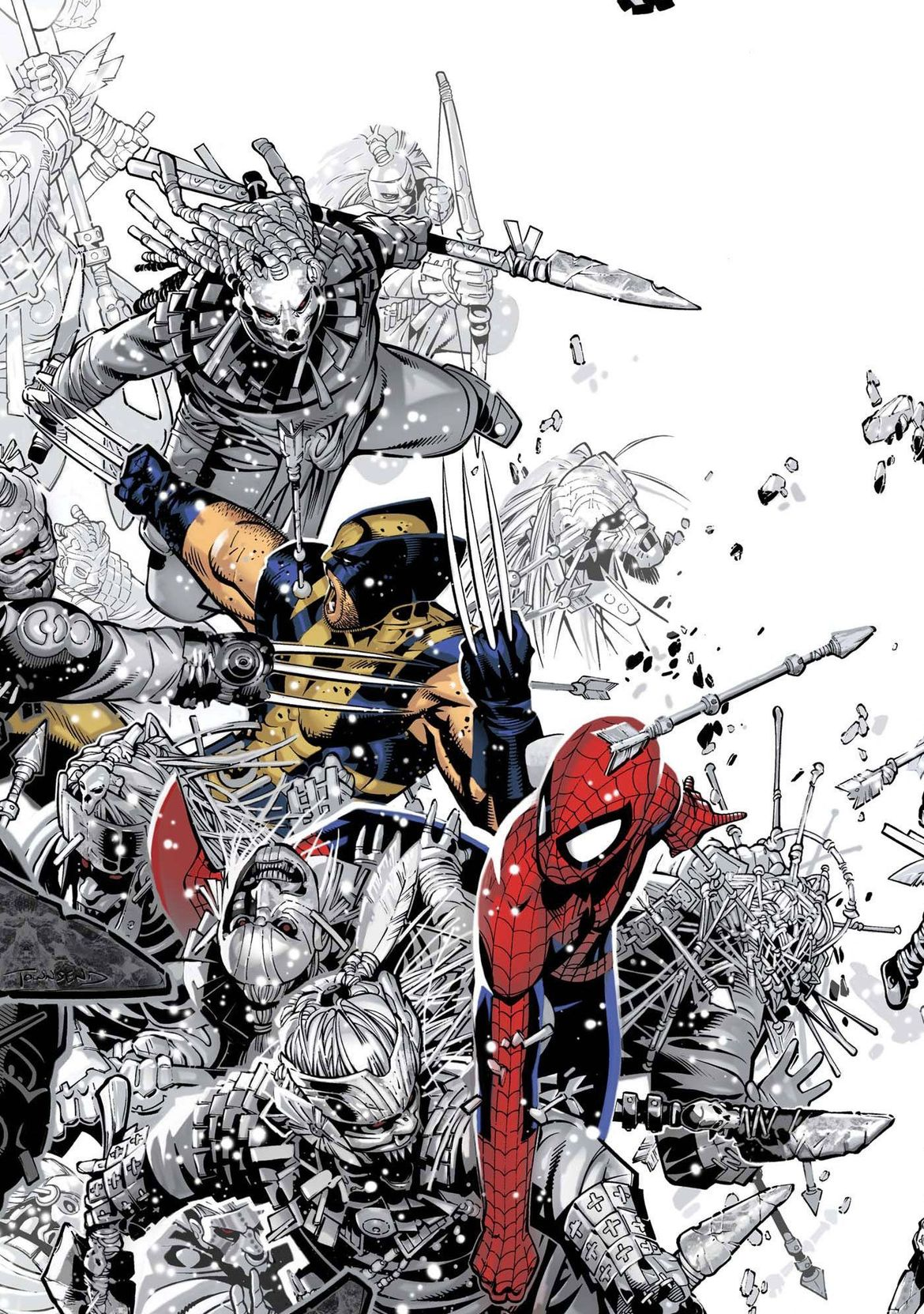 Chris Bachalo, Spider-Man and Wolverine, Marvel Comics