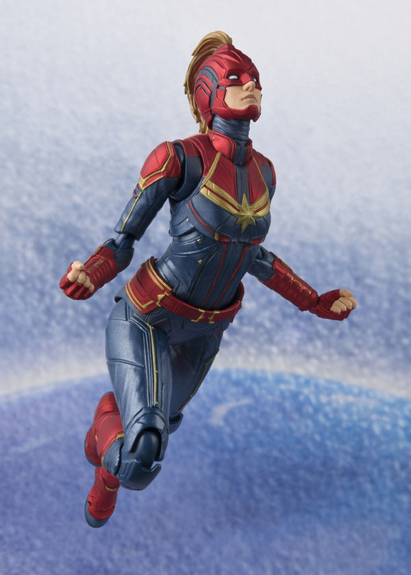 sh figuarts captain marvel