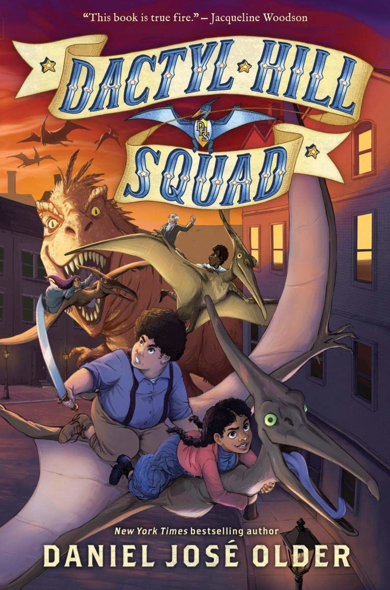 Dactyl Hill Squad, art by Nilah Magruder
