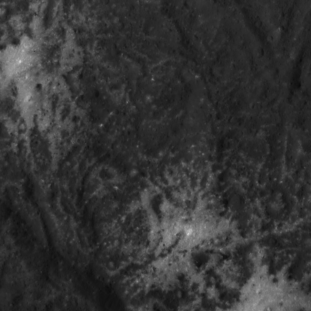 Vinalia Faculae, a collection of bright spots in Occator Crater on Ceres. Credit: NASA/JPL-Caltech/UCLA/MPS/DLR/IDA