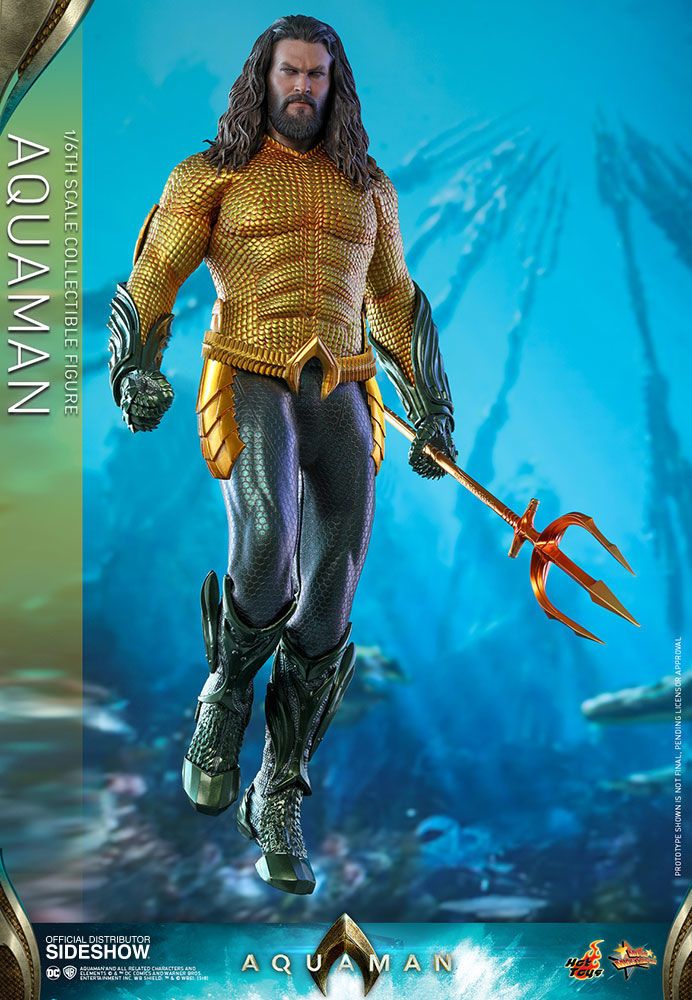 hot toys aquaman figure