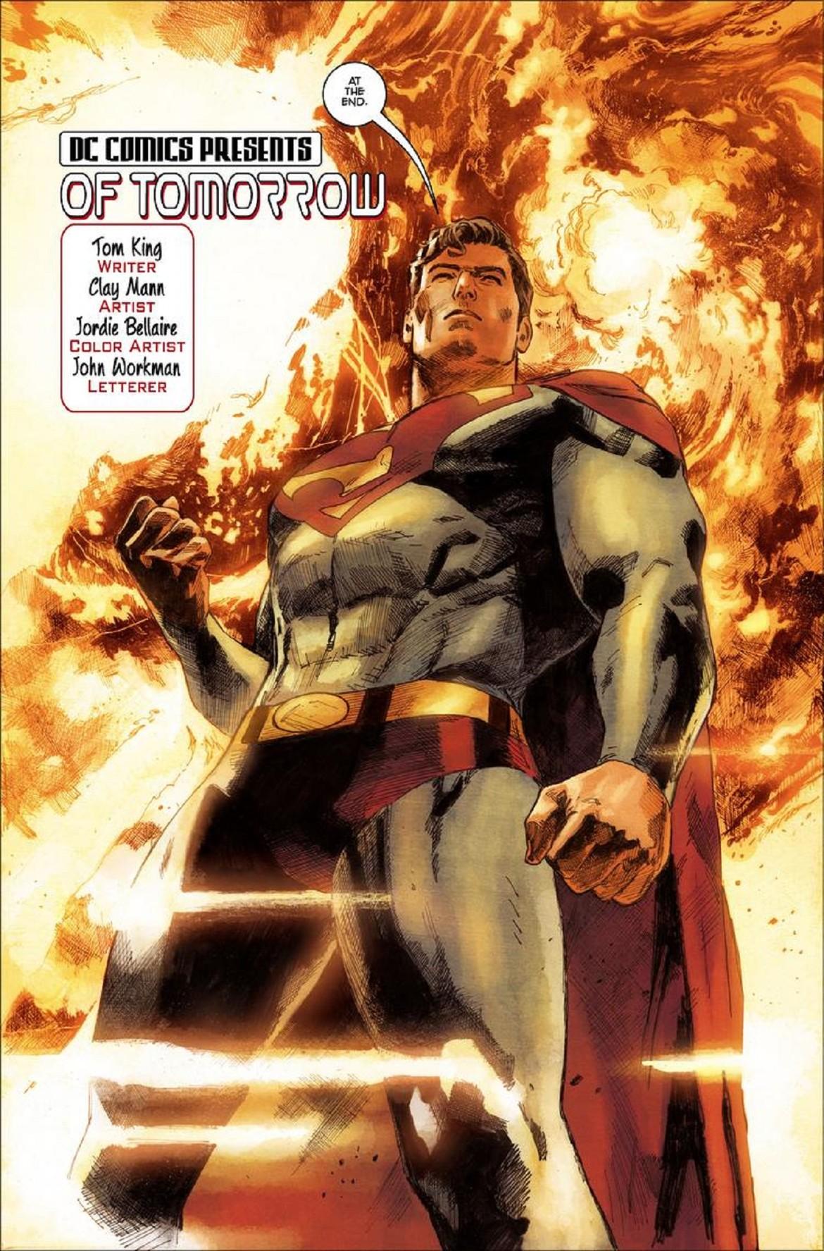 dc comics of tomorrow action comics 1000 superman