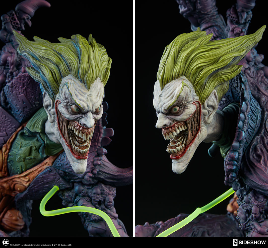 Sideshow Gotham City Nightmare Joker statue