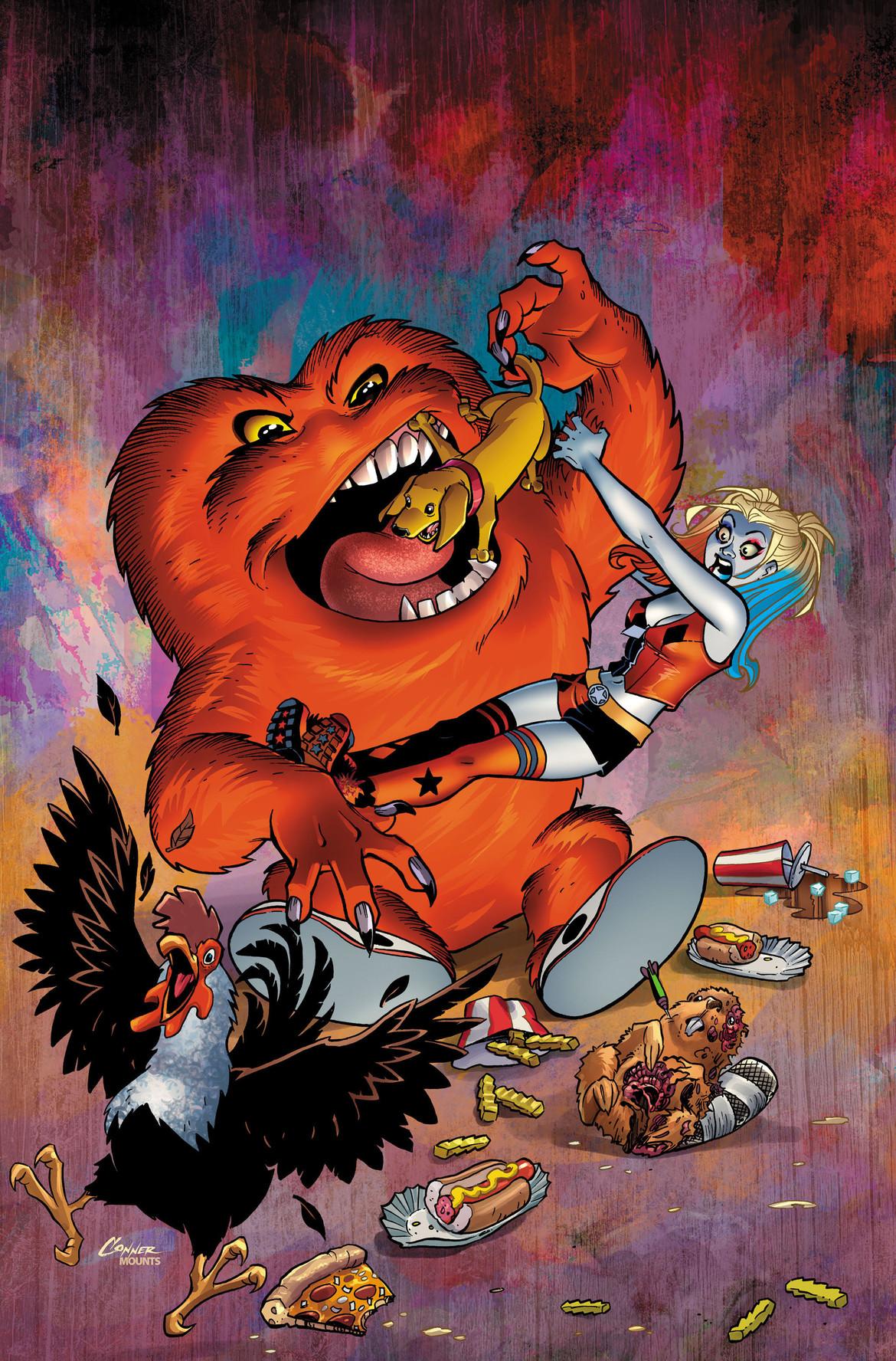 DC Looney Tunes, Harley Quinn Gossamer