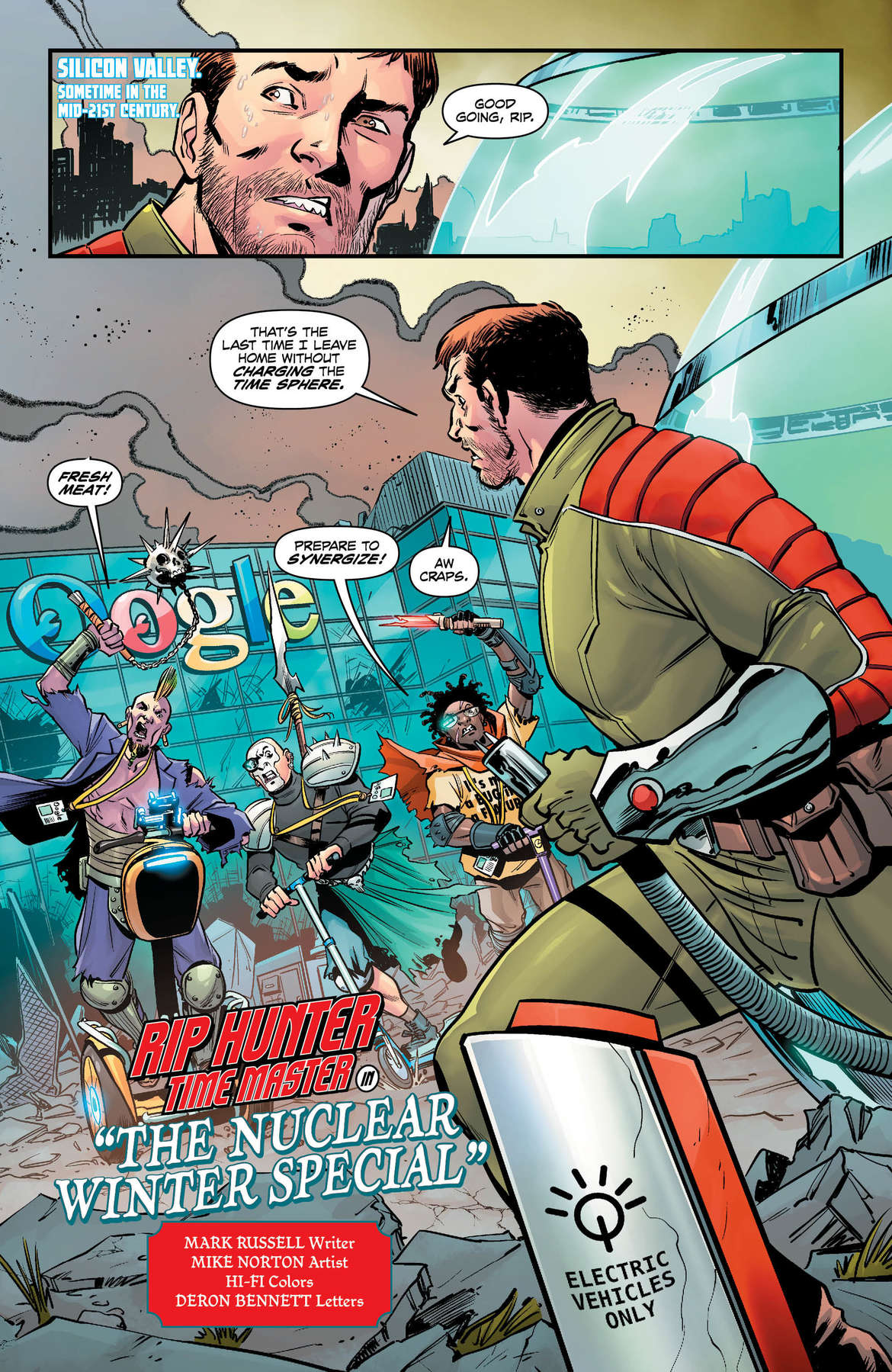 DC Nuclear Winter Special #1 Page 1