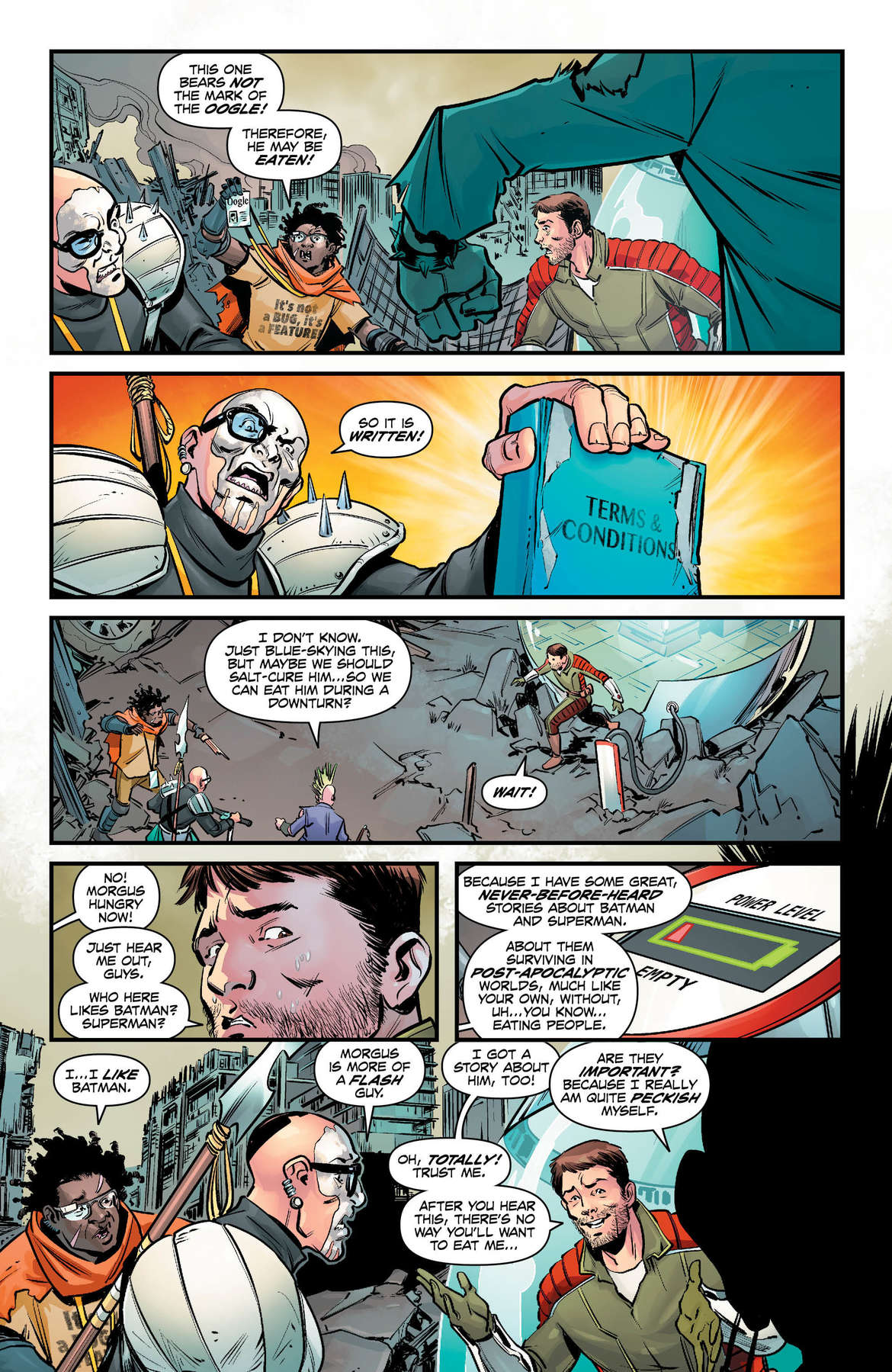 DC Nuclear Winter Special #1 Page 2