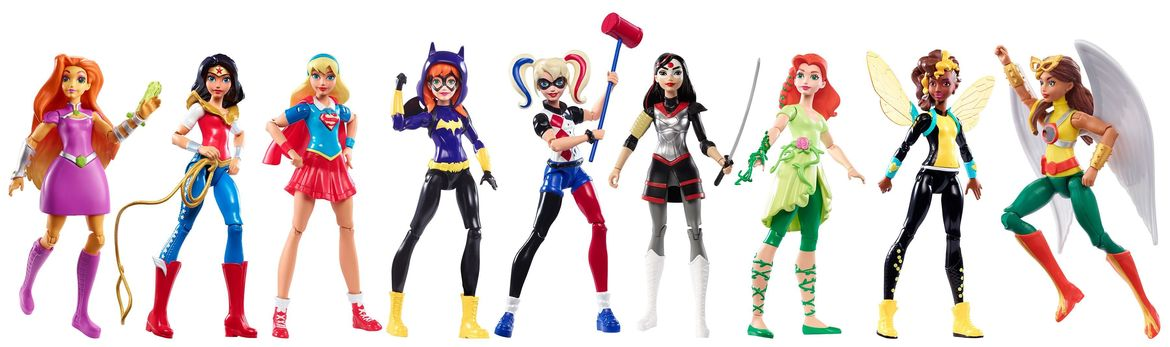 dc super hero girls figures