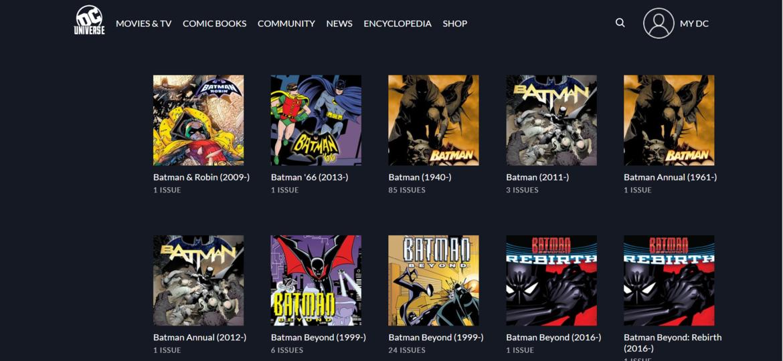 DC Universe Comics