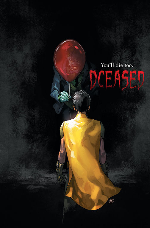 DCeased It variant cover