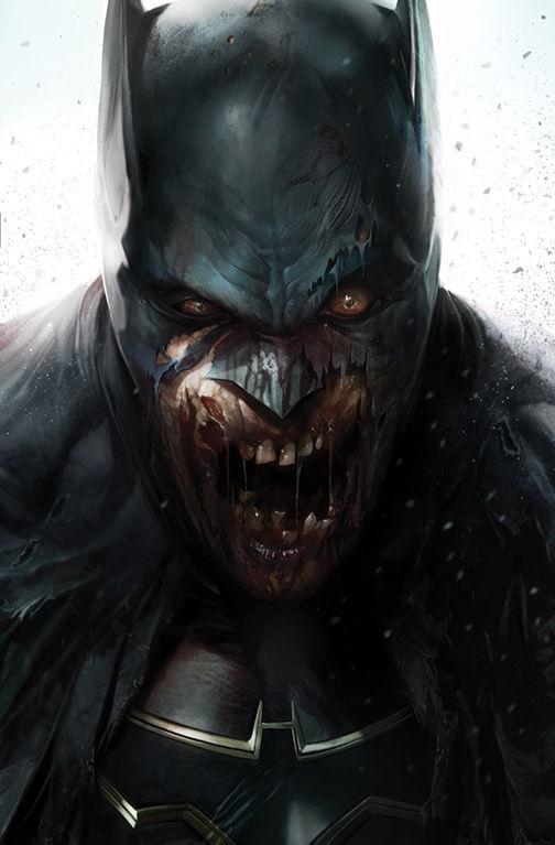 DCeased variant cover Batman