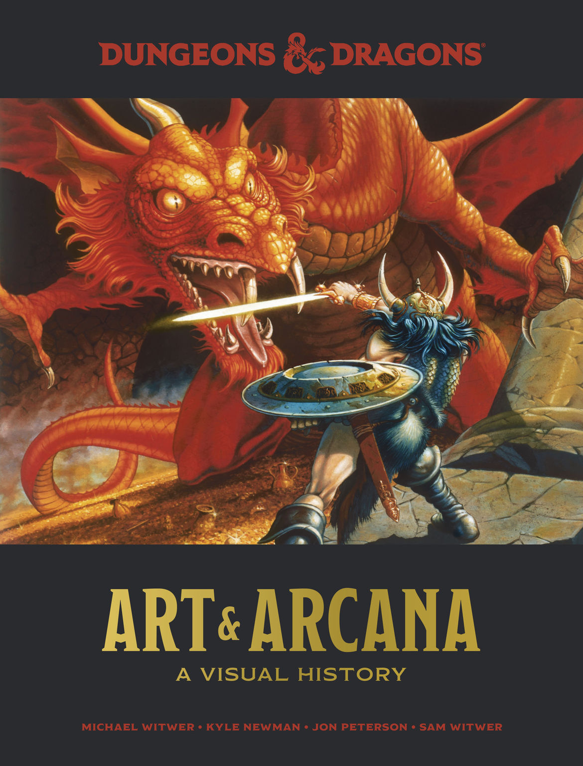 D&D Art and Arcana_book cover