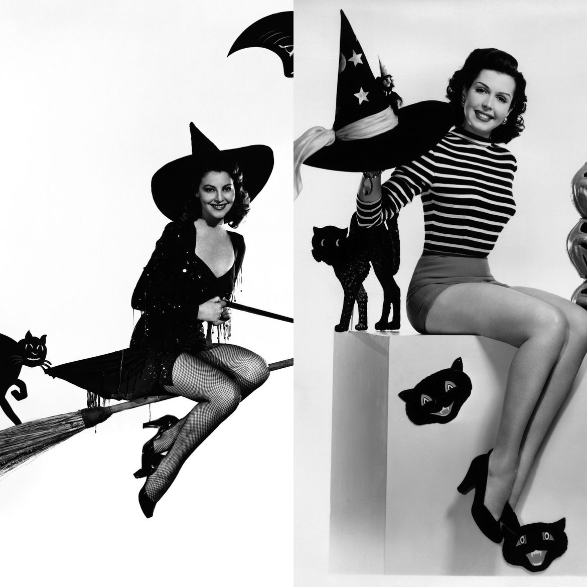 Ava Gardner and Ann Miller