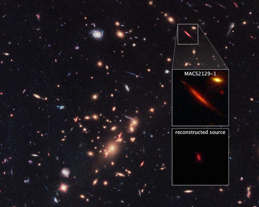 galaxy MACS2129-1