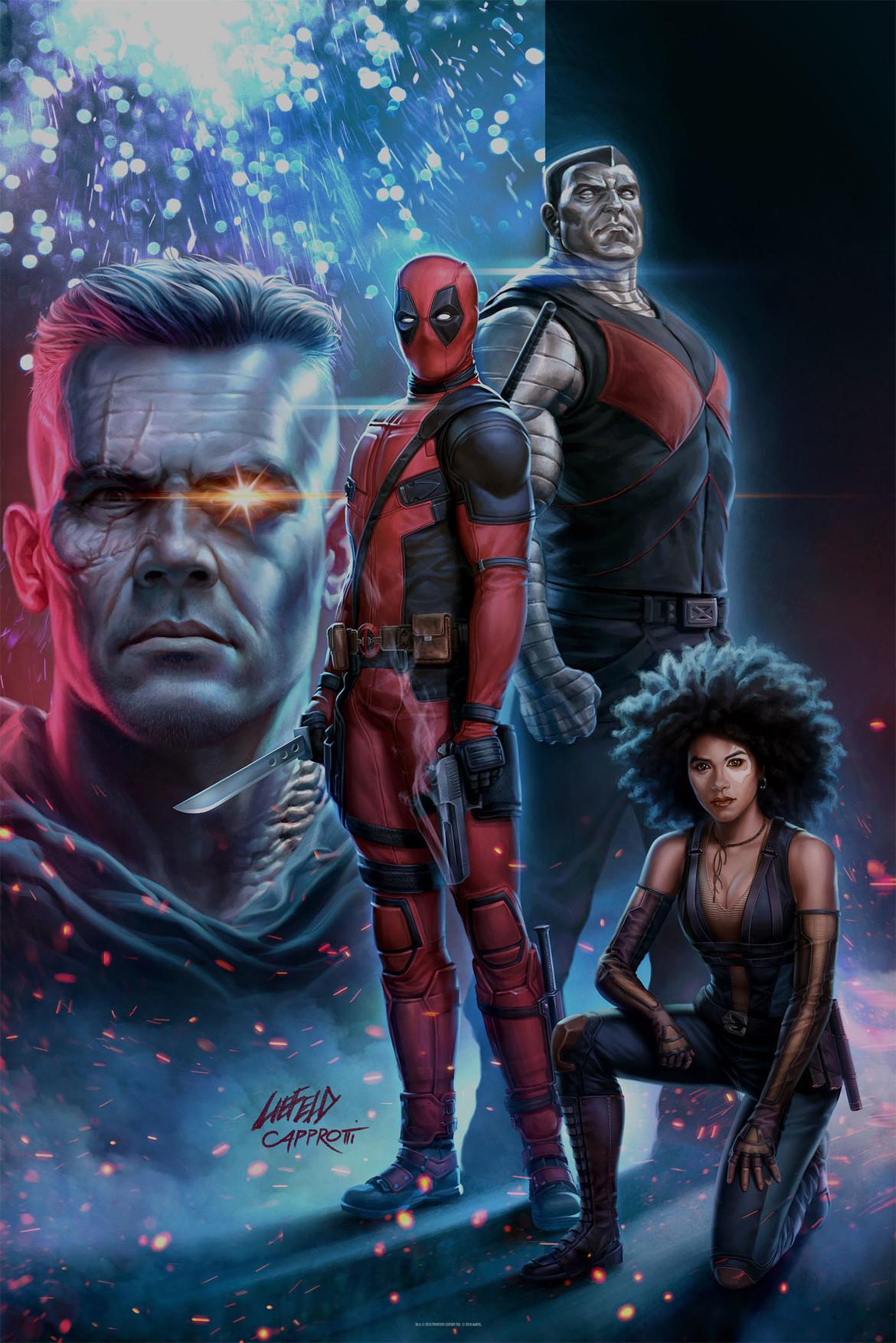 Deadpool 2 Fandango poster